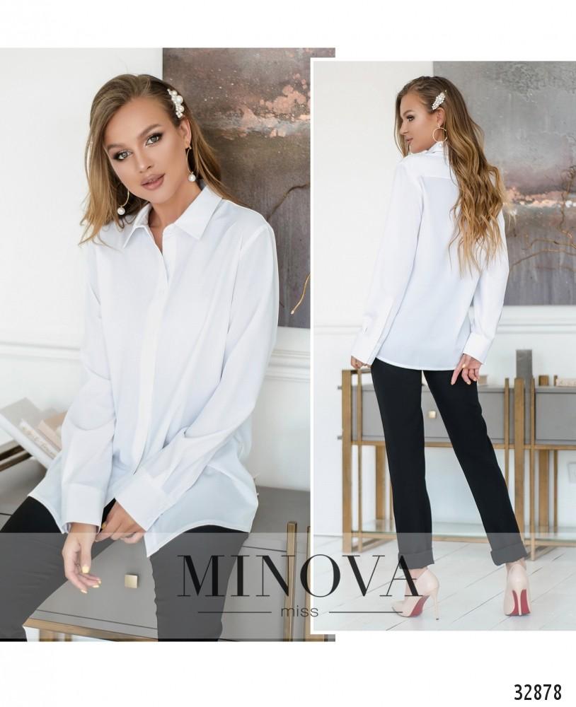 Рубашка №15081-белый