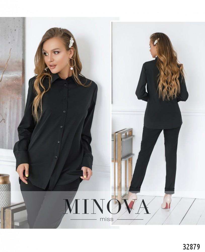 Рубашка №15081-черный