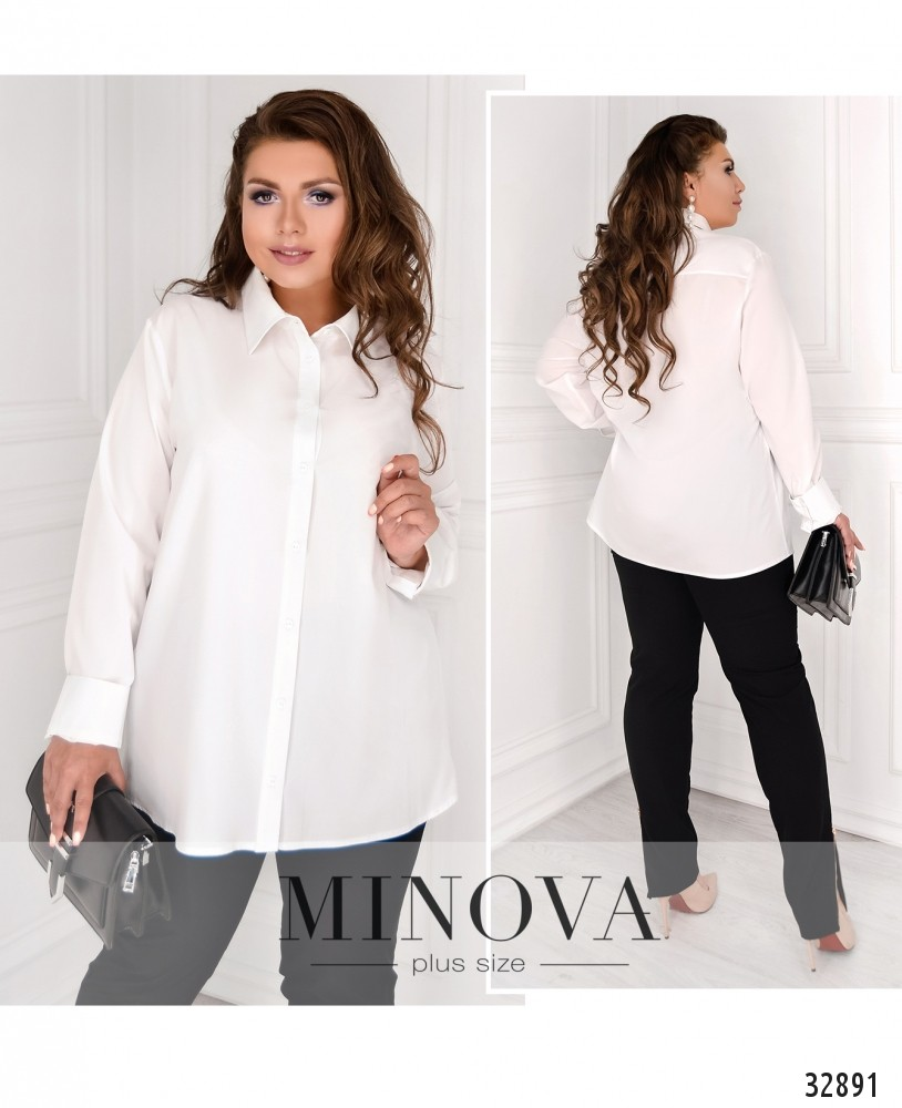 Рубашка №15081-1-белый