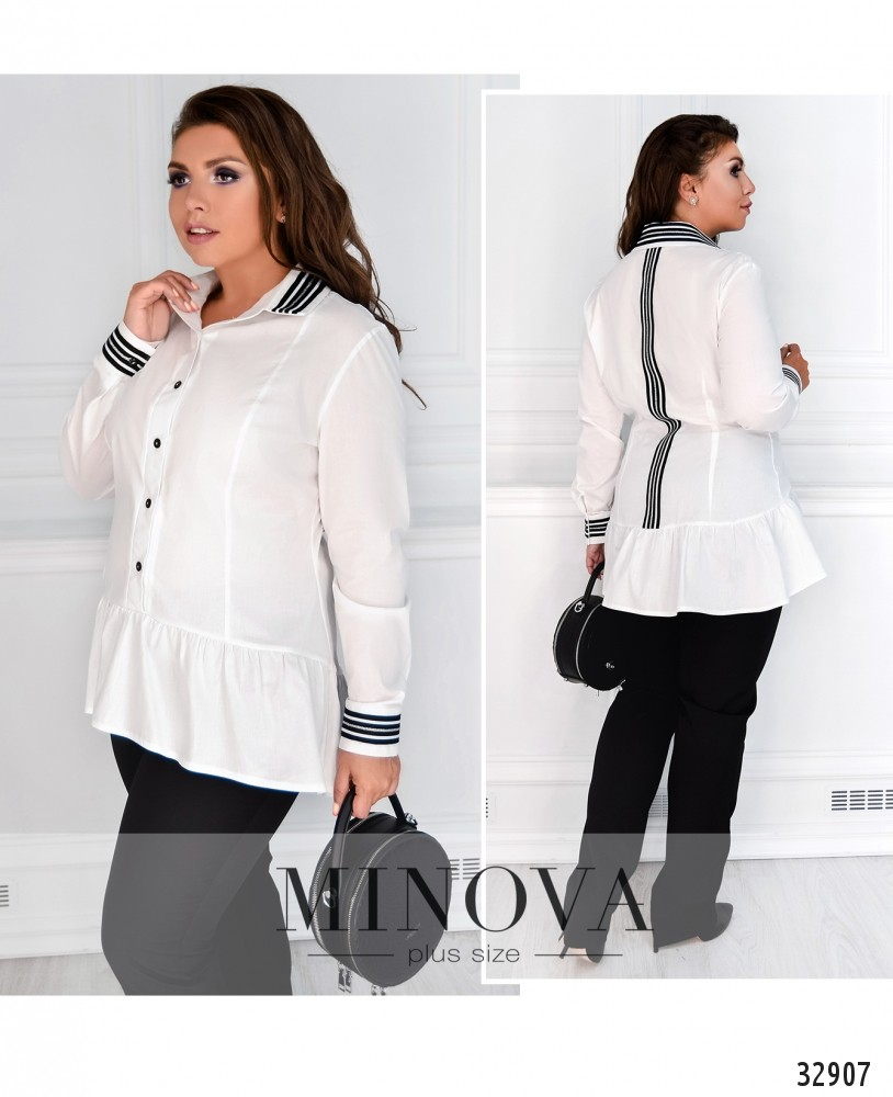 Рубашка №189-белый