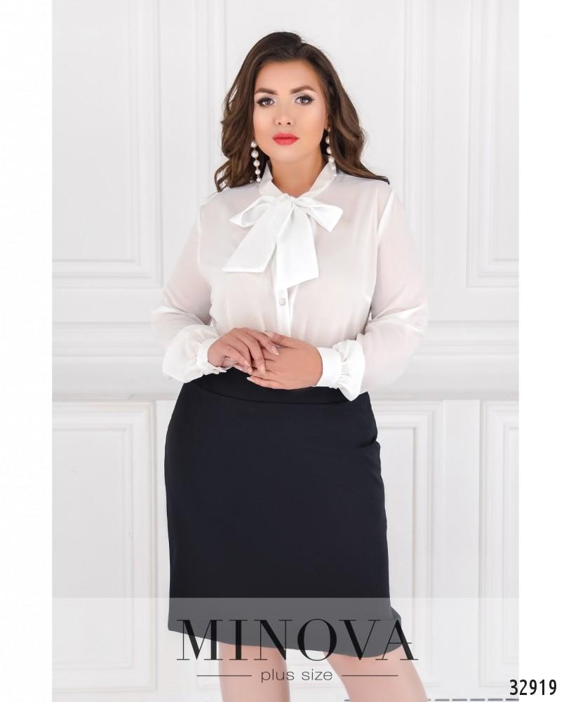 Блуза №119-молочный