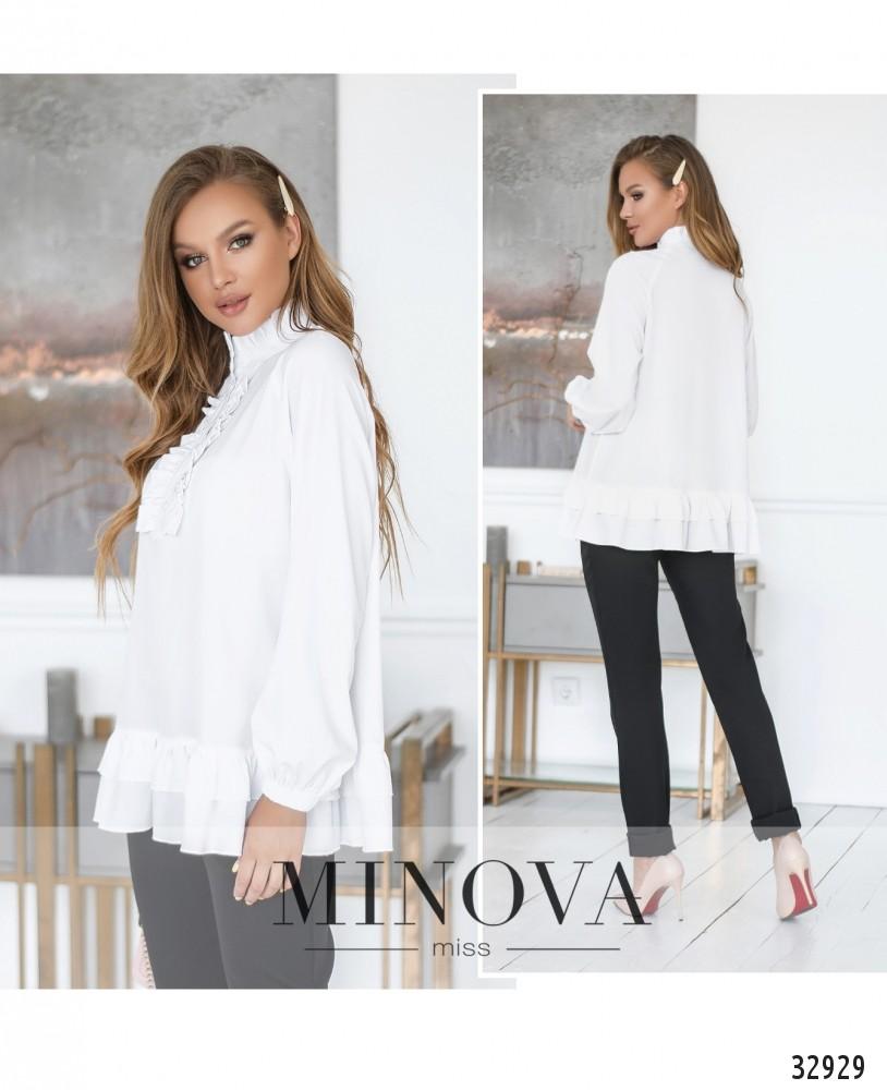 Блуза №1831-белый