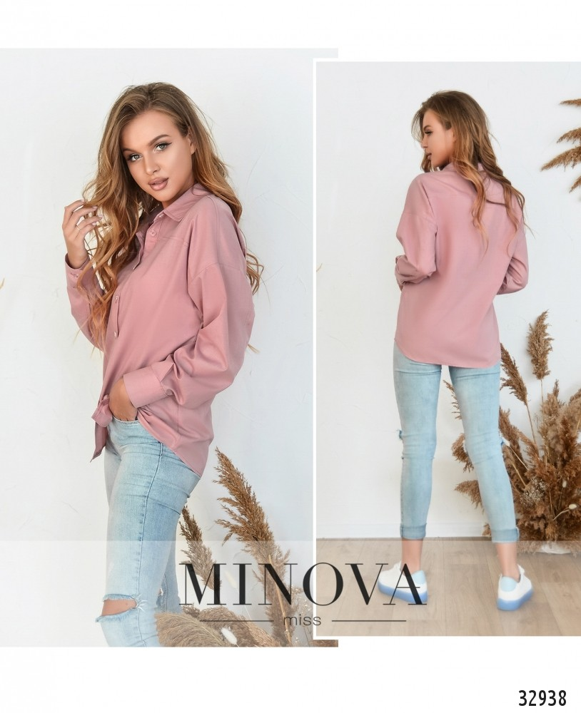 Рубашка №3091.16-розовый
