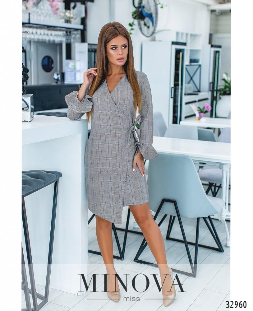 Платье №1251-серый