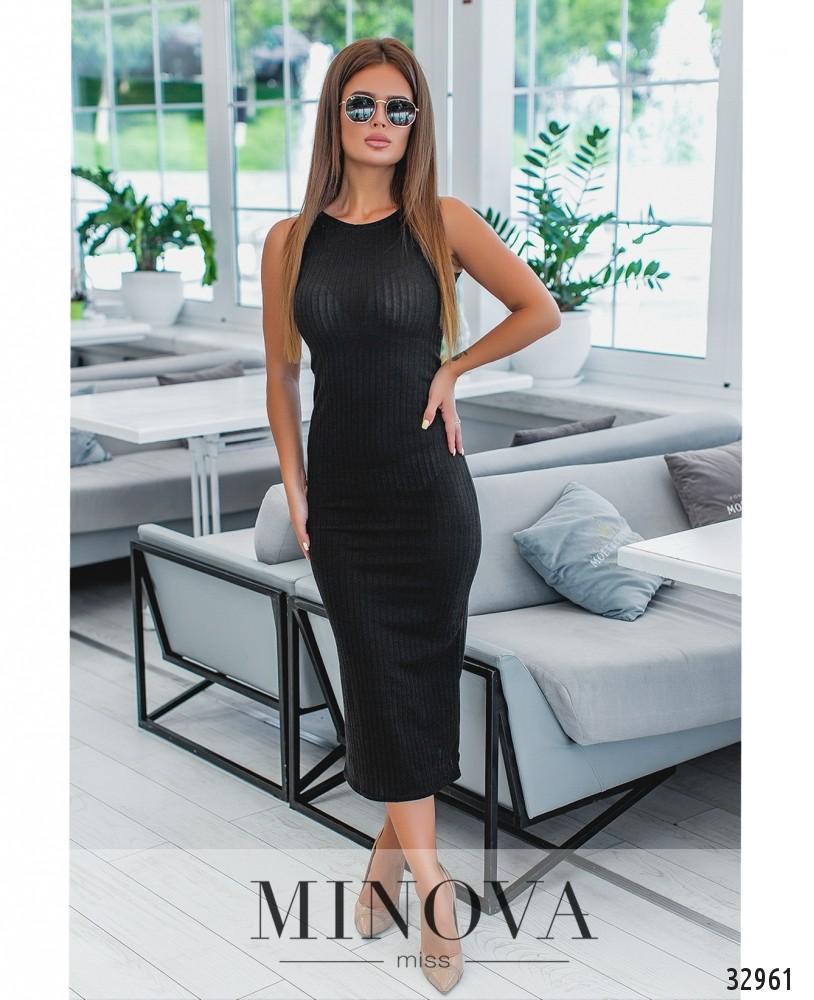 Платье №1288-черный