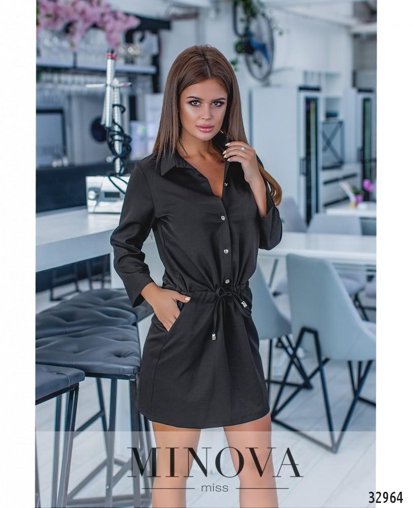 Платье №1043-черный