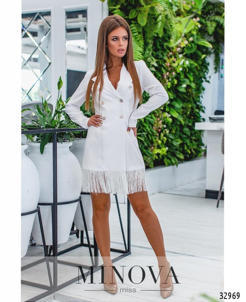 Платье №1136-белый