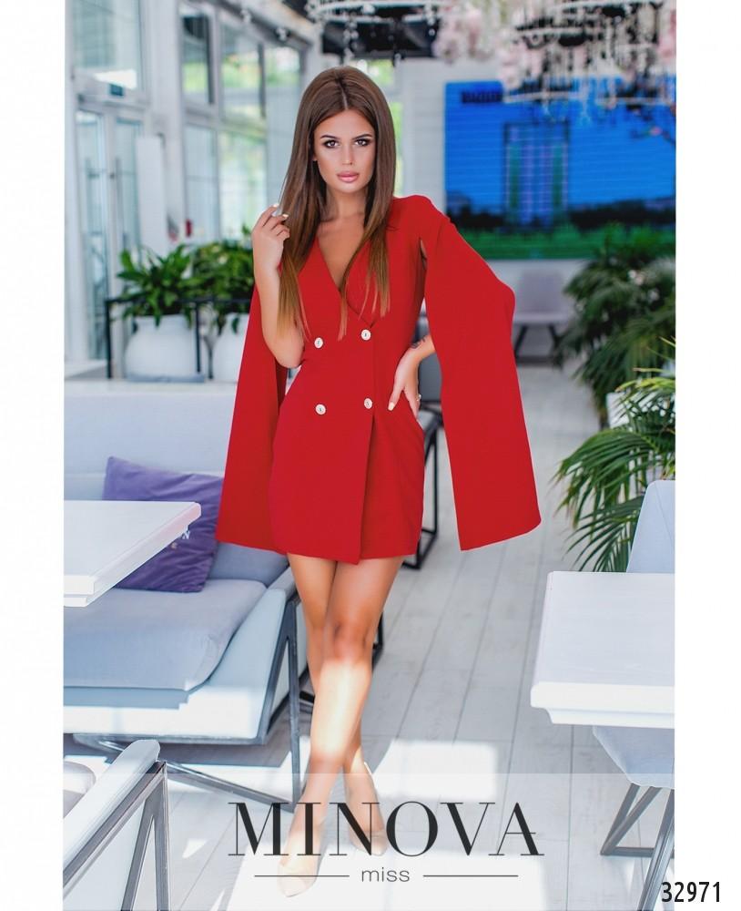 Платье №1135-красный