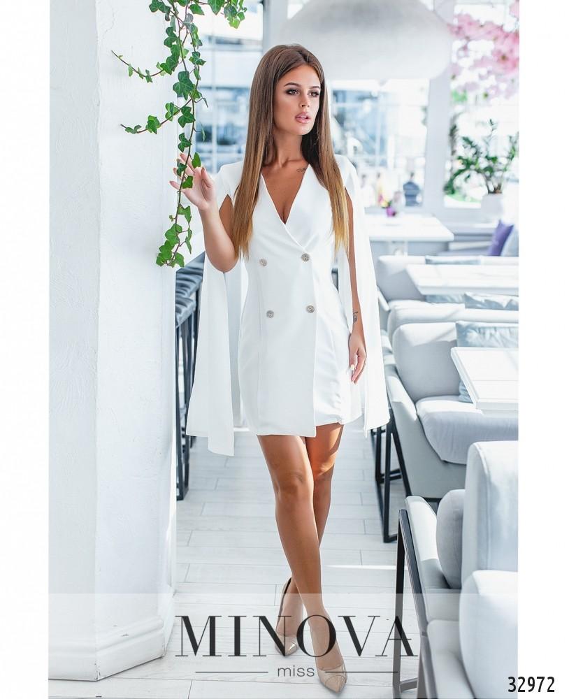 Платье №1135-белый