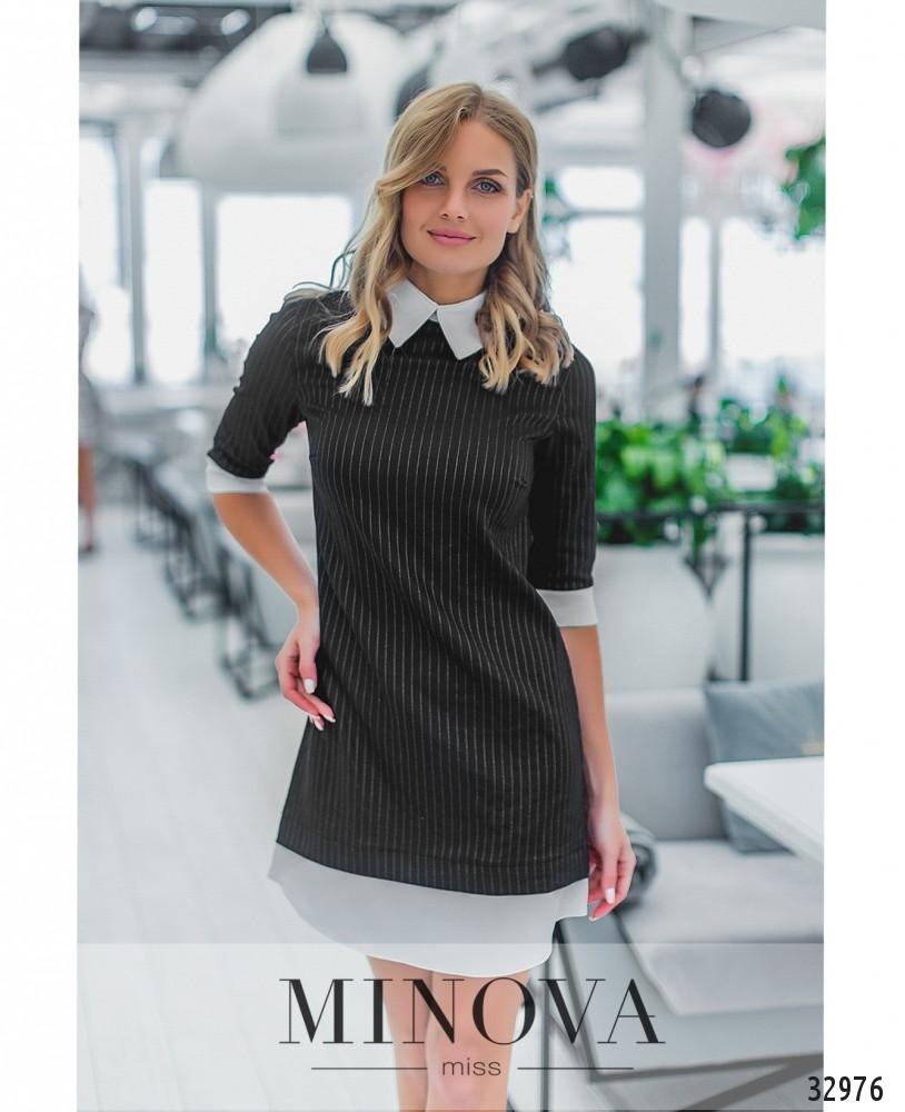 Платье №1353-черный
