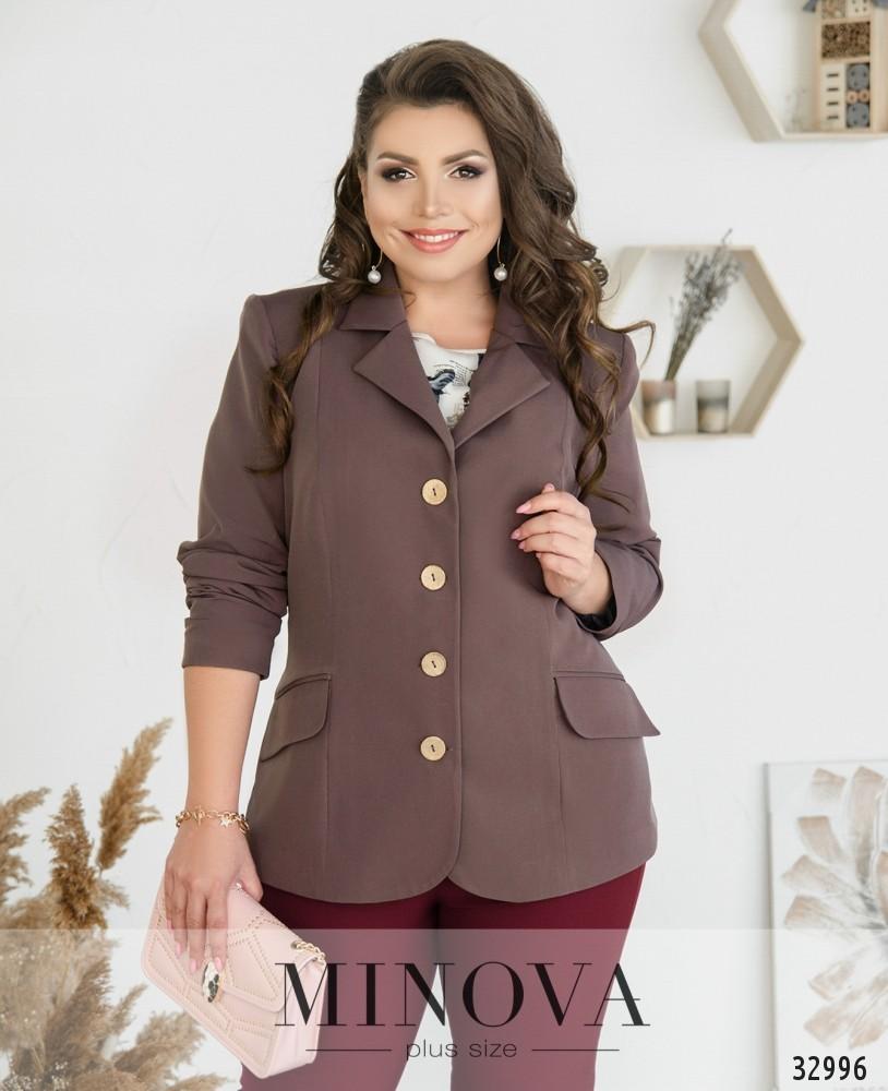 Пиджак №8-180-какао