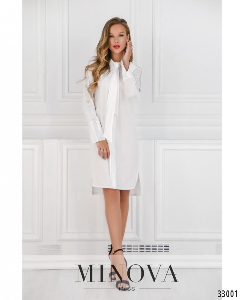 Платье №4082-белый