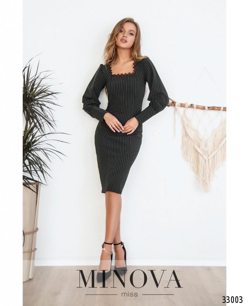 Платье №3125-черный