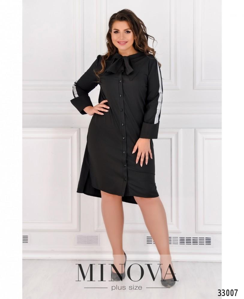 Платье №4082-1-черный