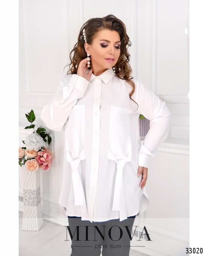 Рубашка №1862-1-белый