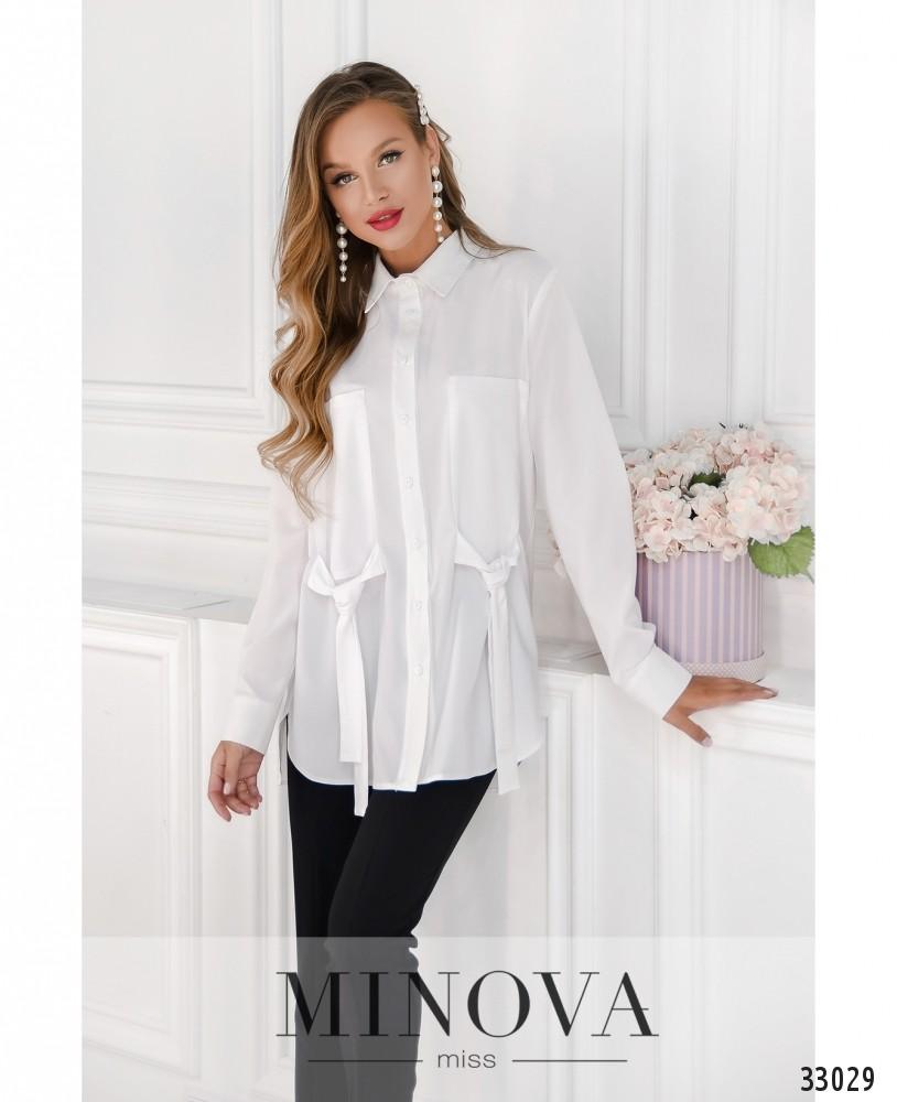 Рубашка №1862-белый
