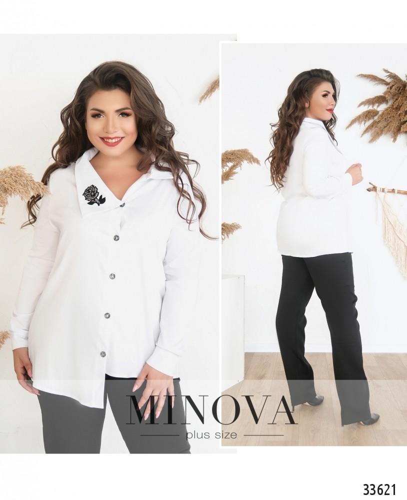 Рубашка №131-белый