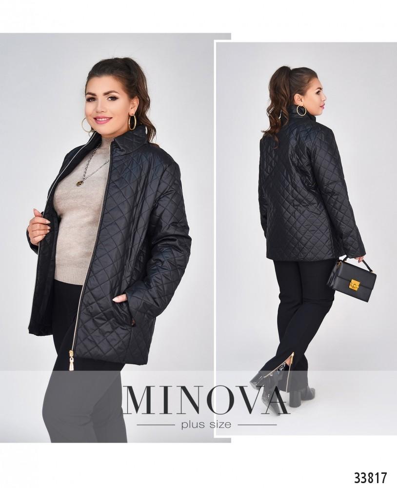 Куртка №4036-1-черный