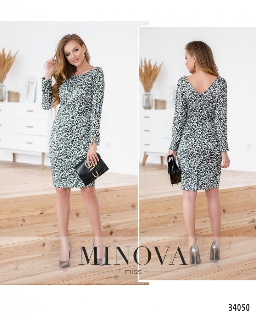 Платье №1499-серый (н)
