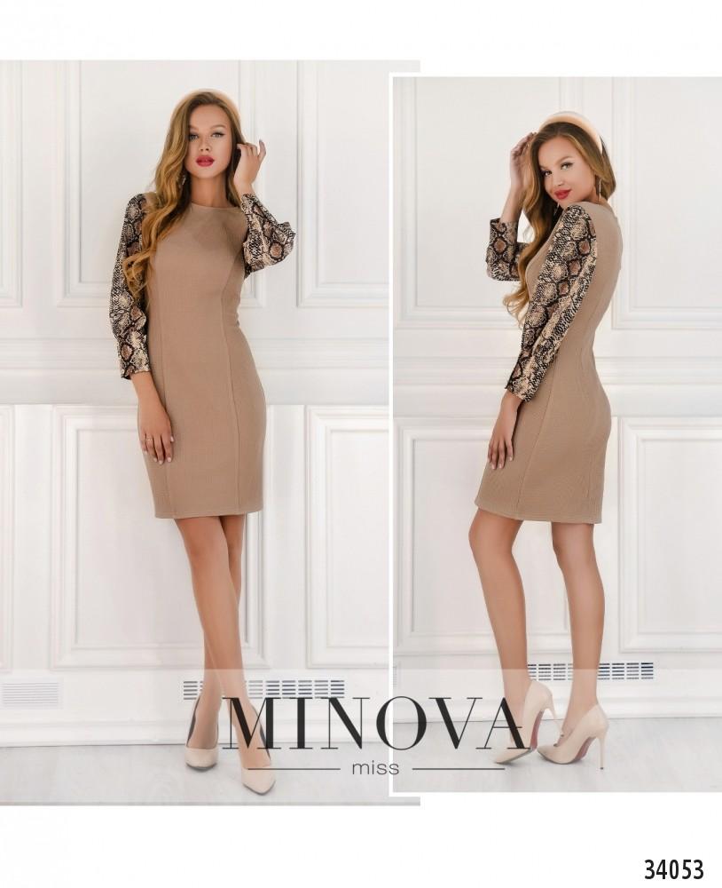 Платье №15710-беж (н)