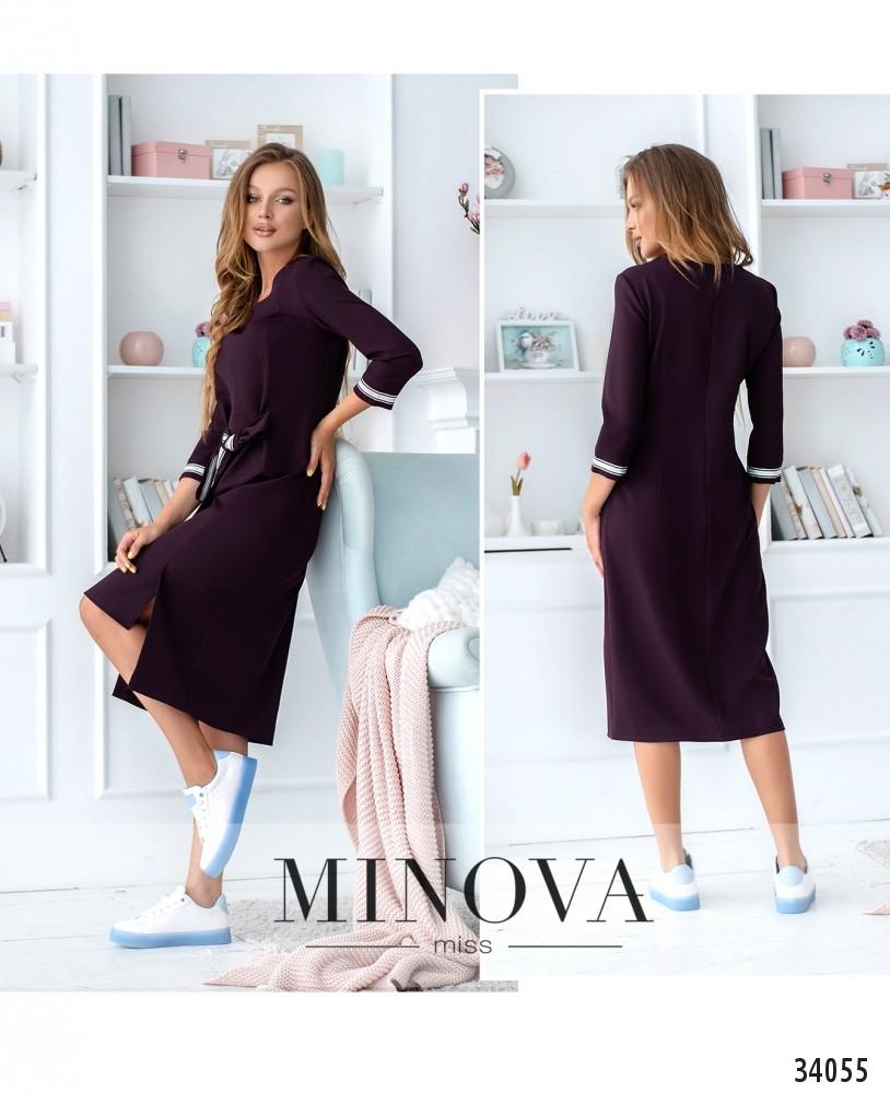Платье №4093-фиолетовый (н)