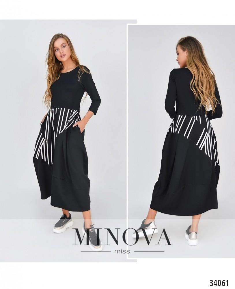 Платье №5181.21-черный (н)