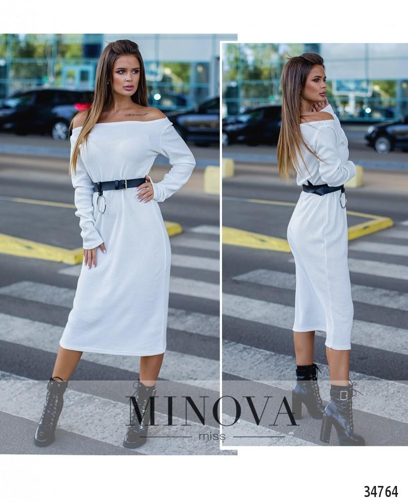 Платье №1390Н-белый