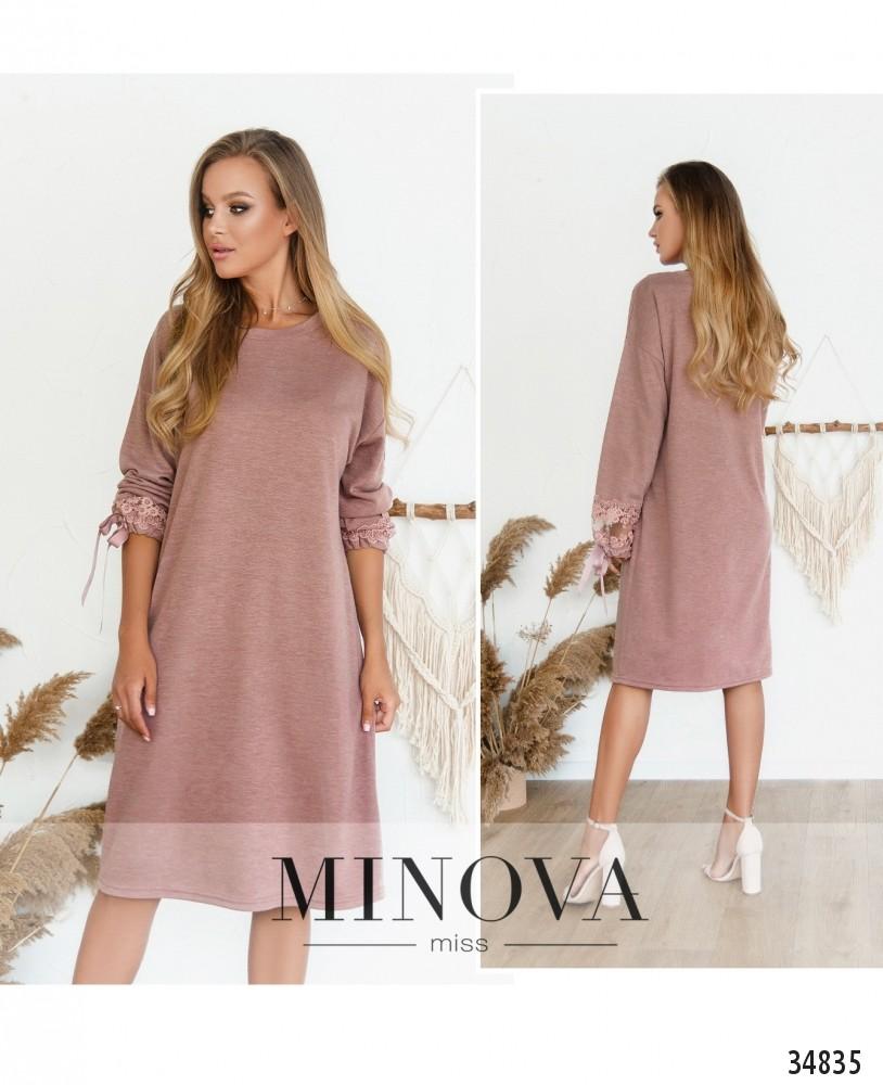 Платье №3128Н-фрезовый