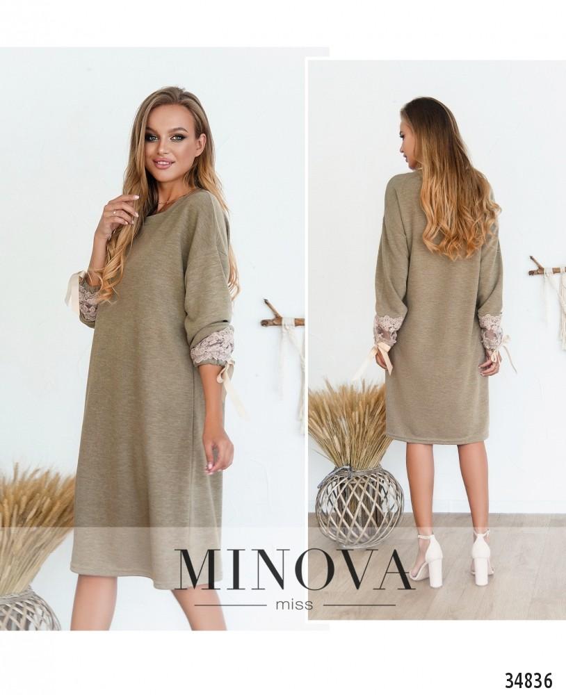 Платье №3128Н-бежевый