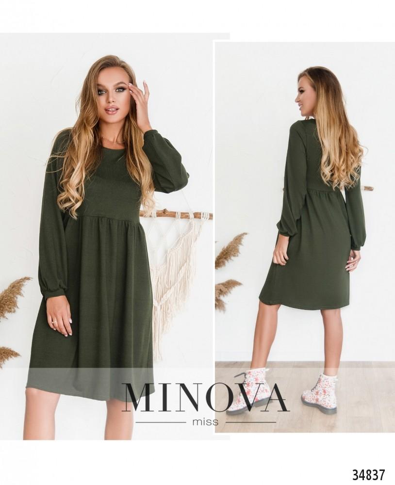 Платье №3129Н-хаки