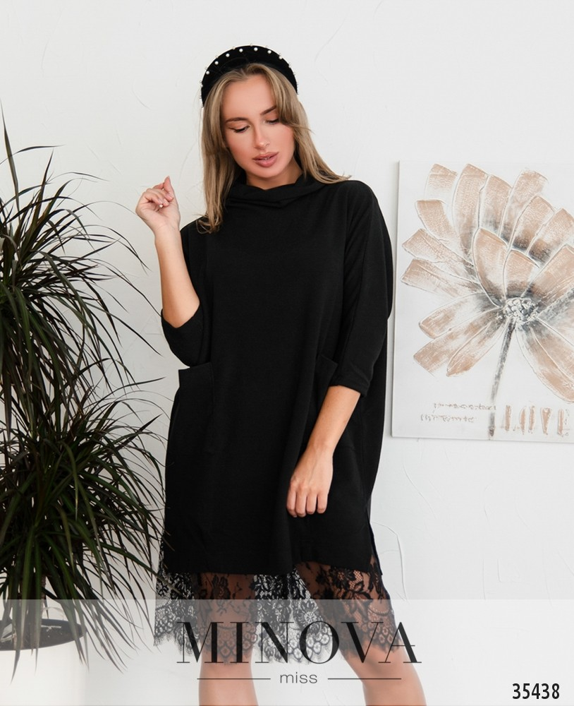 Платье №4096-черный