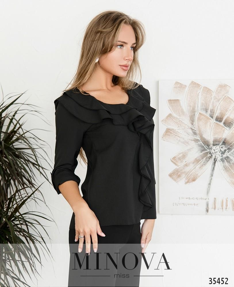 Рубашка №159-2-черный