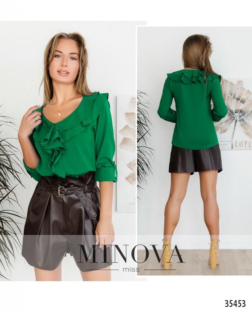 Рубашка №159-2-зеленый (н)