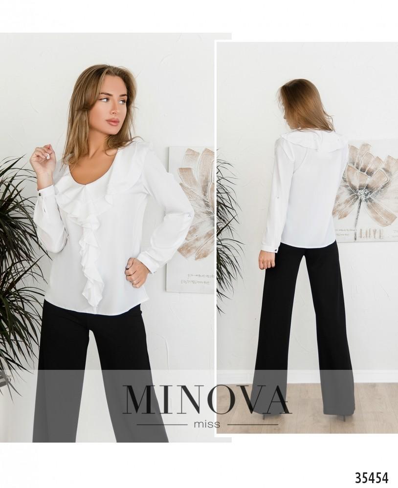 Рубашка №159-2-белый (н)