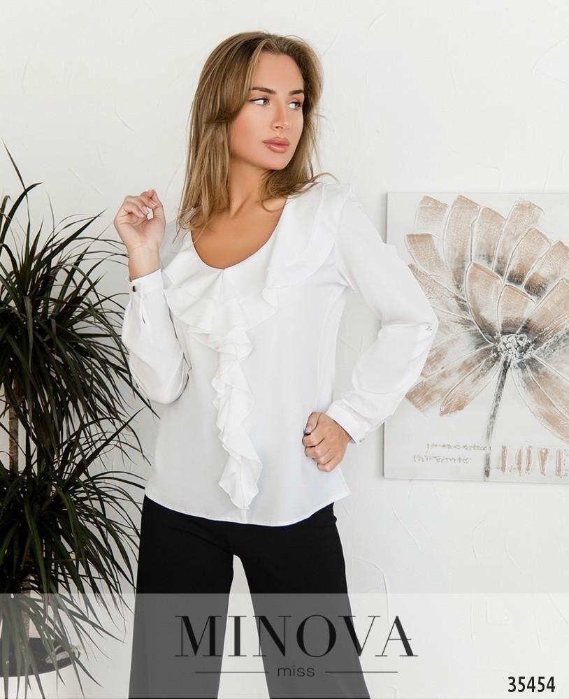 Рубашка №159-2-белый