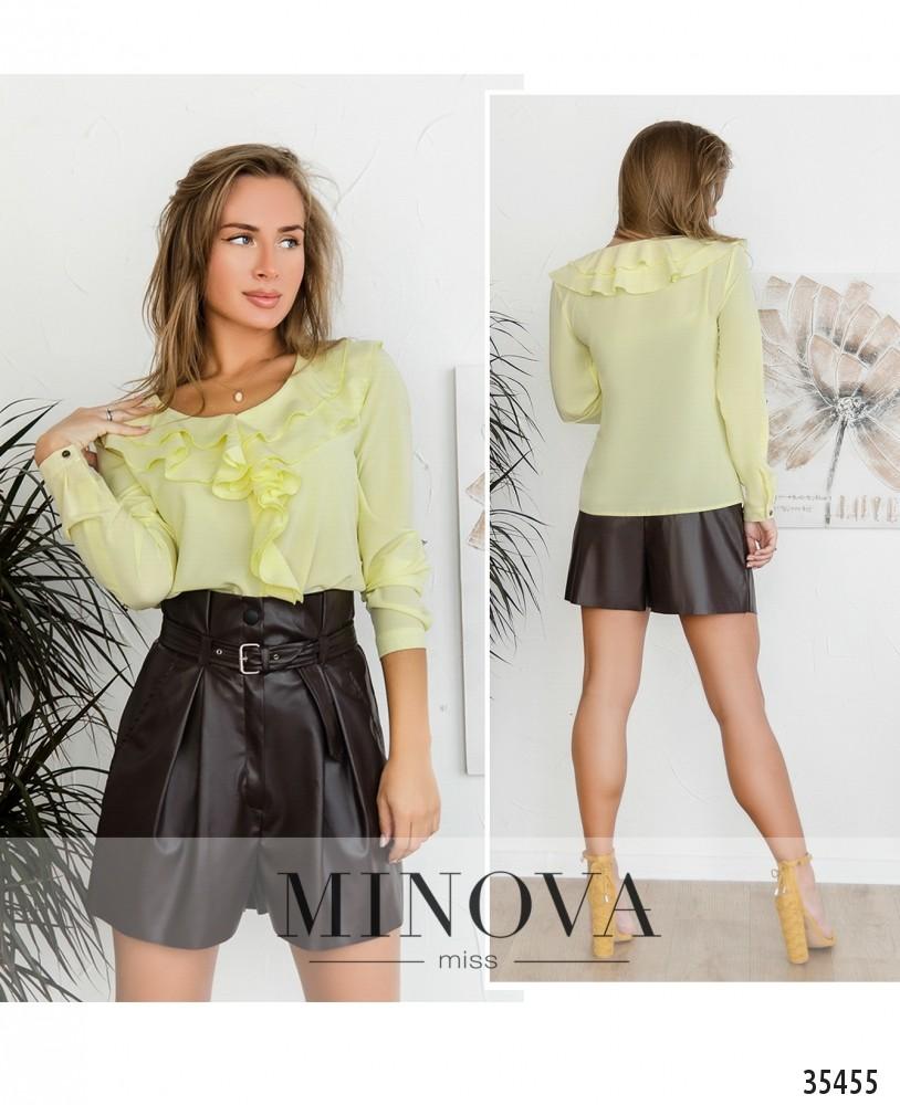 Рубашка №159-2-желтый (н)