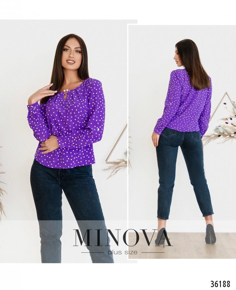 Рубашка №157-2Б-фиолетовый