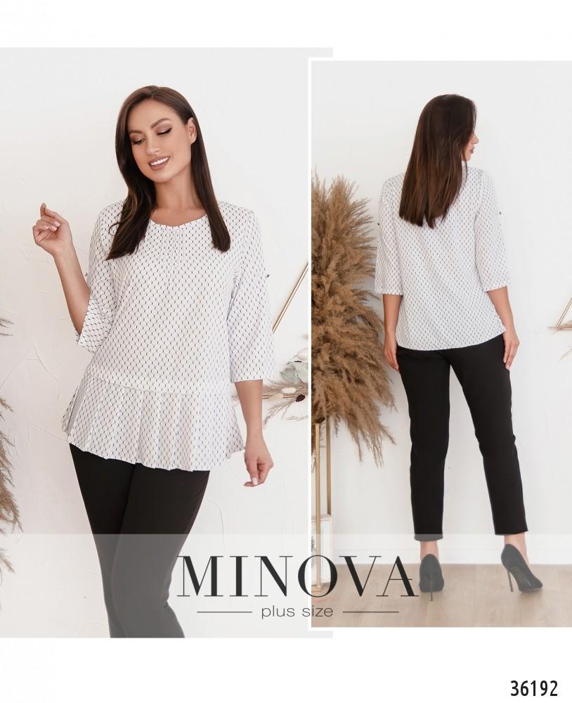 Рубашка №166-1Б-белый