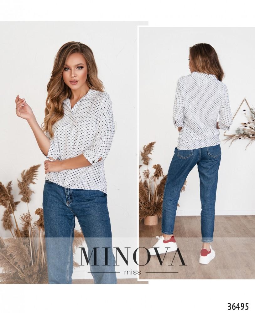 Рубашка №165Н-1-белый (н)