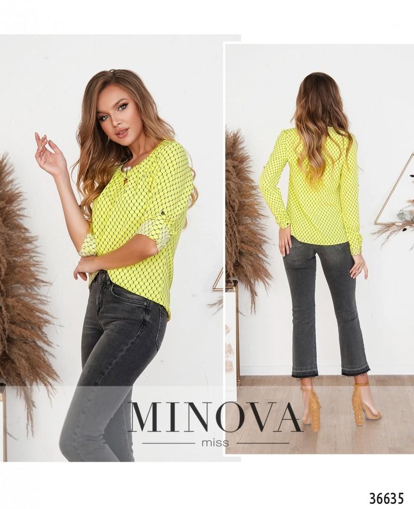 Рубашка №157Н-2--желтый (н)
