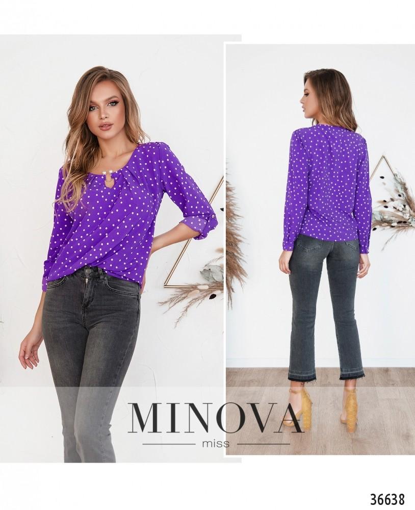 Рубашка №157Н-2--фиолетовый (н)