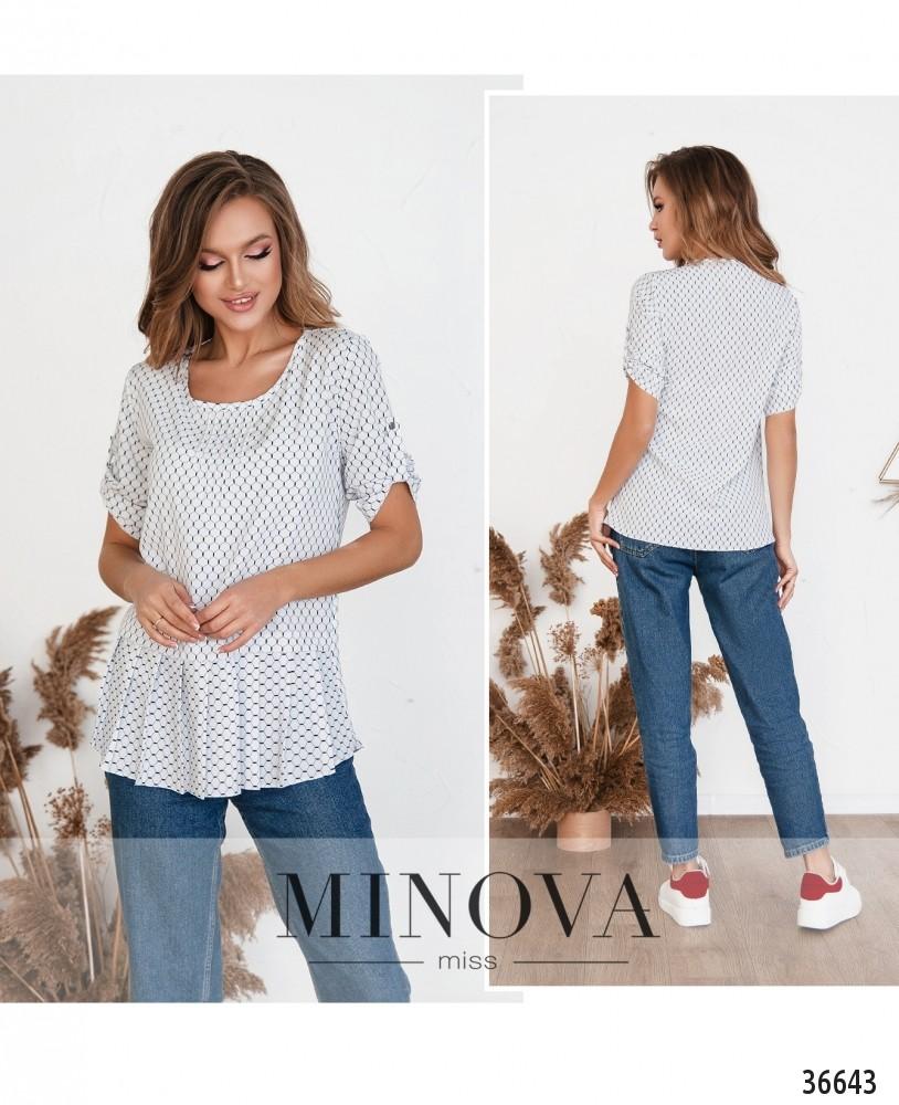 Рубашка №166-1-белый (н)