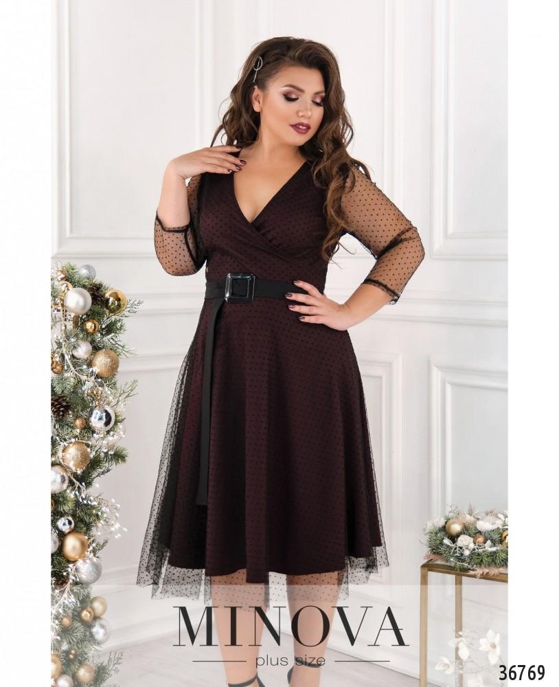 Платье №286-1-марсала_minova_2