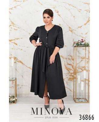 Платье №3257-черный