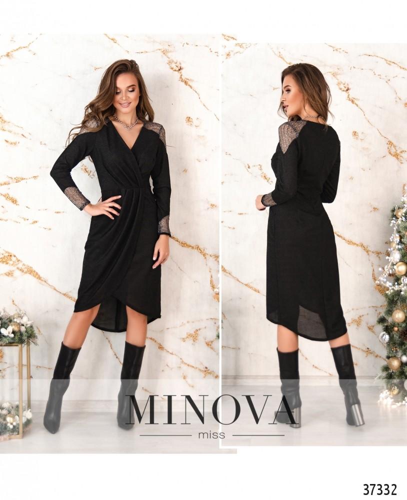 Платье №1154-черный (н)