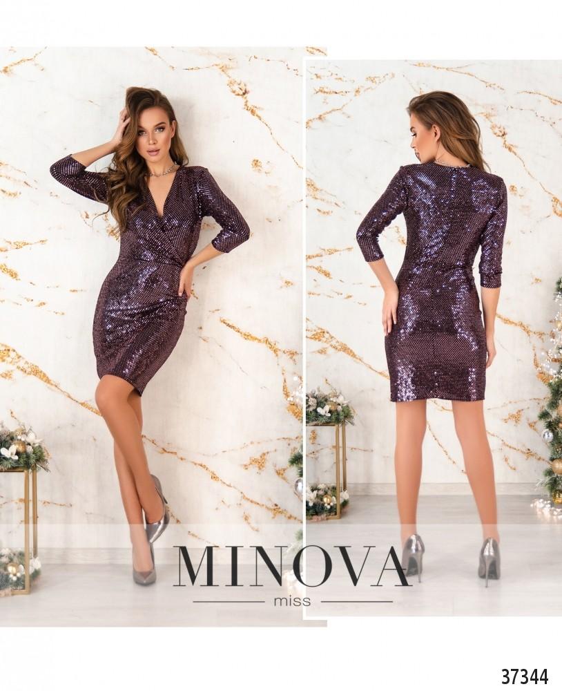 Платье №2156-пудра (н)