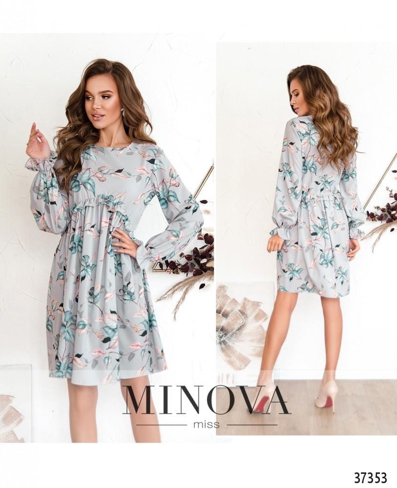 Платье №3131-серый (н)
