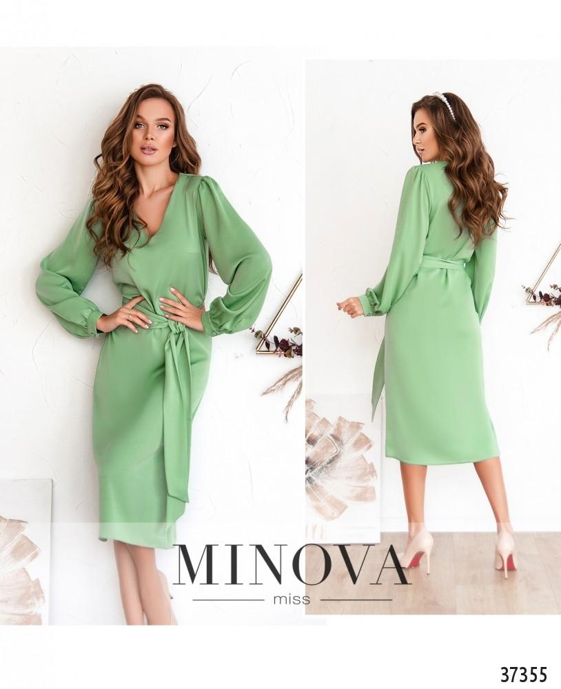 Платье №3134-оливка (н)