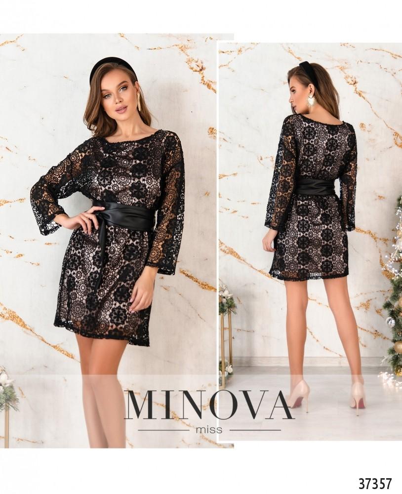 Платье №4116-черный (н)