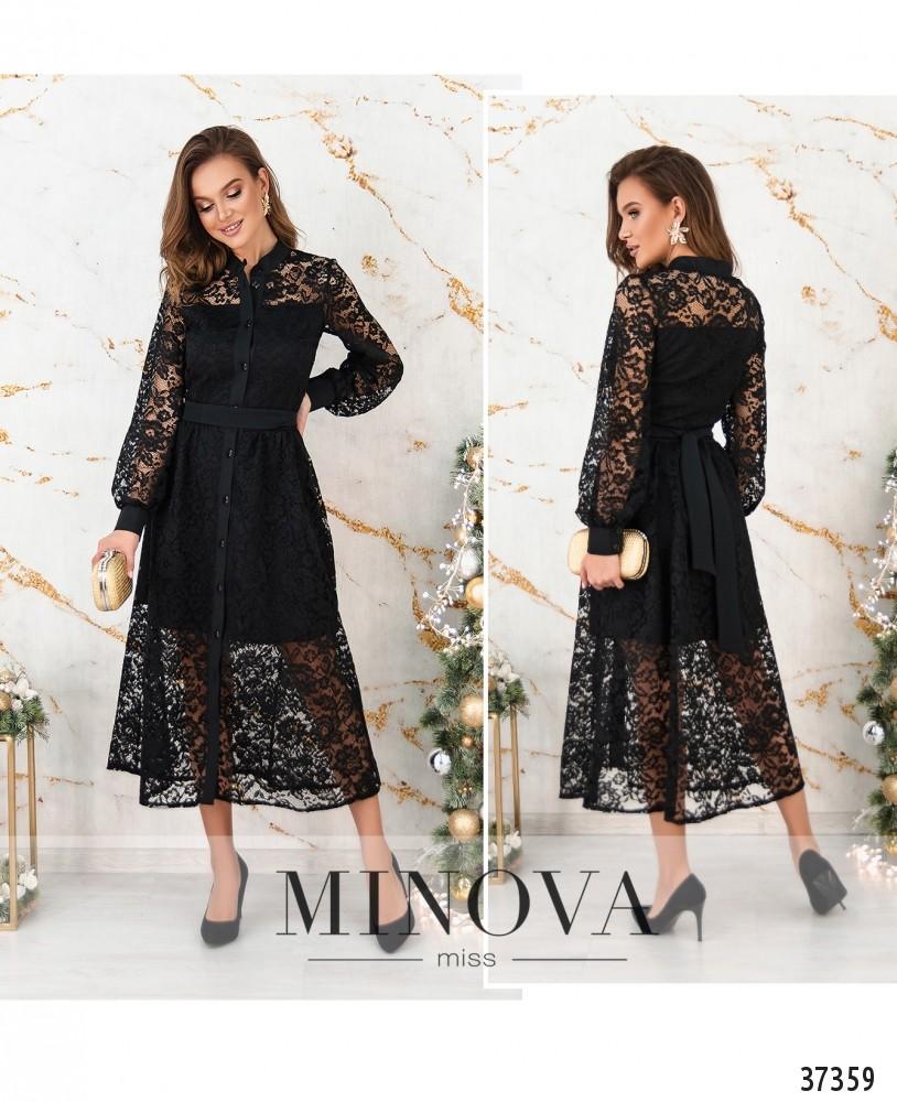 Платье №4113-черный (н)